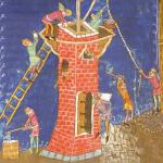 Mittelalter Handwerker Wohnturm